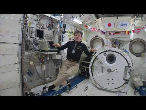 Space Station Crew Member Discusses Record-Breaking Mission with the Media