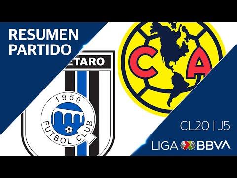 Resumen Y Goles | Querétaro Vs América | Jornada 5 - CL 2020 | Liga BBVA MX