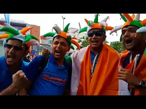 Pre-match Mood: India and Pakistan fans show why it's the mother of all battles