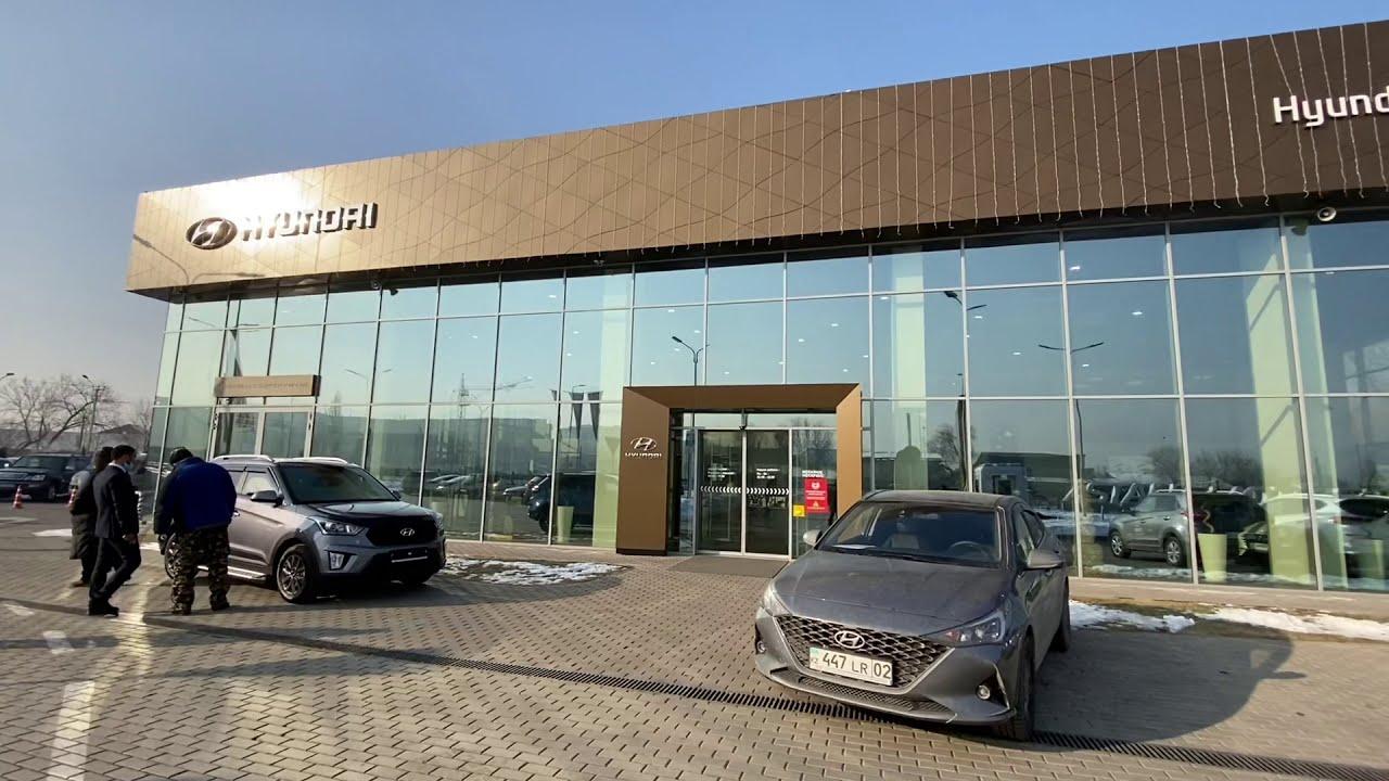 Автосалон Hyundai Qalqaman (Хендай Калкаман) обзор авто салона!  8 моделей в 58 комплектациях.