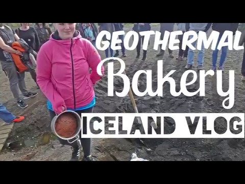 Geothermal bakery in Iceland