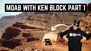 SHREDDING CAN-AMS IN MOAB WITH KEN BLOCK BTS PART 1 | CASEY CURRIE VLOG