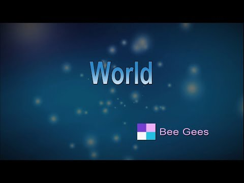 World ♦ Bee Gees ♦ Karaoke ♦ Instrumental