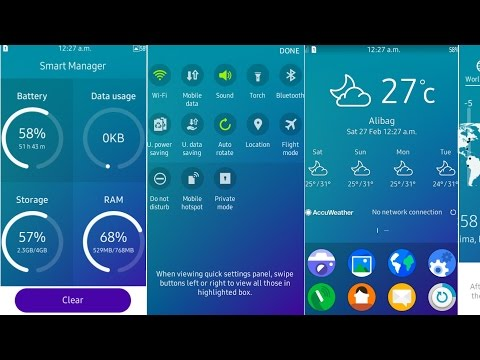Samsung Z1 Update Tizen OS (2.4.0.2) Review