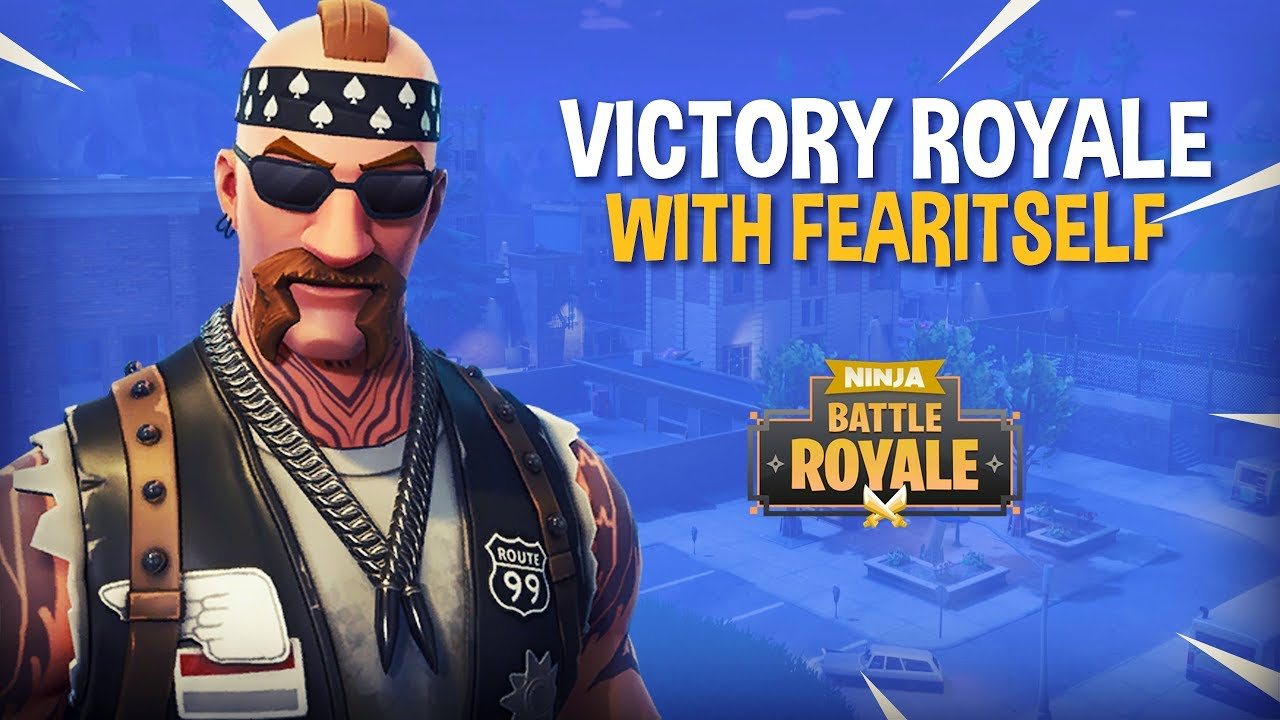 VICTORY ROYALE With FearItSelf - Fortnite Battle Royale Gameplay - Ninja