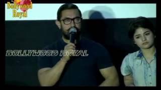 Aamir Khan Launches 'Dangal' Song With Nitesh Tiwari, Zaira Wasim & Suhani Bhatnagar Part 2