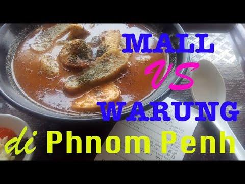 Makan Jalan Jalan Ke Wat Phnom Phnom Penh Cambodia Kamboja Youtube