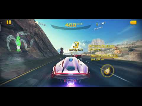 Asphalt 8 koenigsegg regera The Great Wall - No wreck - Multiplayer Race - on two year old poco f1