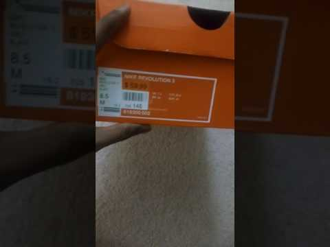 39eb015fa1d Nike Revolution 3 Shoe Unboxing - YouTube