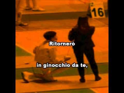 Gianni Morandi - In Ginocchio Da Te - Karaoke - YouTube