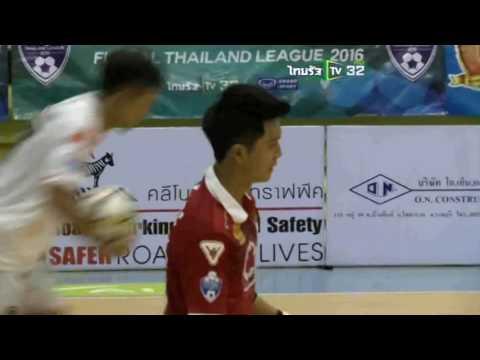 AIS Futsal Thailand League 2016 | กรมทางหลวง 4-2 นครราชสีมา วี-วัน 25/5/2016