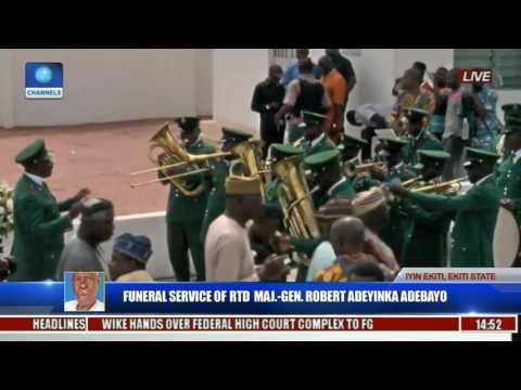 Funeral Service Of Major Gen Robert Adeyinka Adebayo Rtd Pt 21