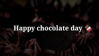 Happy chocolate day 🍫 Chocolate day special shayari🍫Valentines week special hindi shayari
