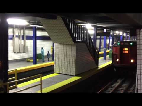 Arties train layout :NYC Subway part 2