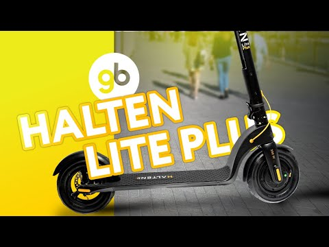 HALTEN LITE PLUS - идеальный баланс 2020г для городского электросамоката со съемным аккумулятором!