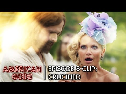 Crucified   American Gods Episode 8 Come To Jesus