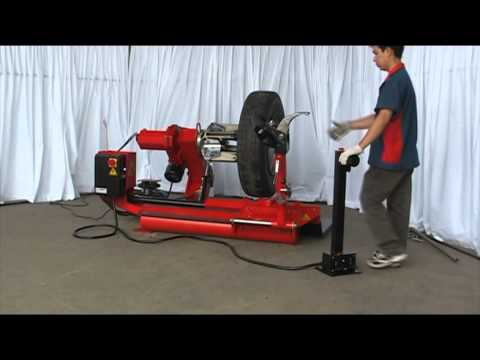 Truck Tire Changer CD830A Demonstration.
