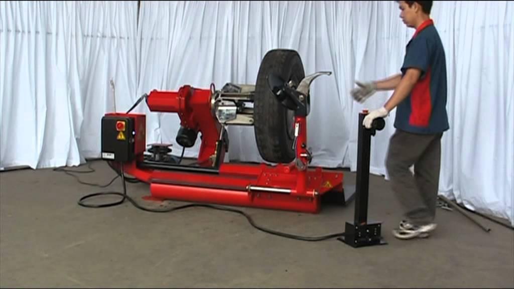 Truck Tire Changer Cd830a Demonstration Youtube