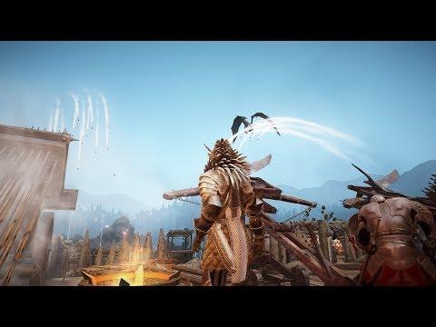 Black Desert Online - Wizard vs Striker 1v1