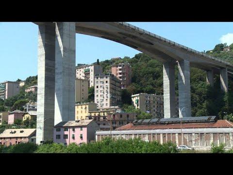 Living under a motorway bridge in Genoa