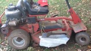 Easy DIY homemade mulch cover (Snapper Rear-engine) How to install!