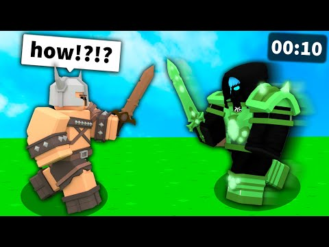 I disguised my avatar with ARMOR in Roblox Bedwars..