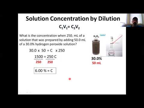Solutions By Dilution And Factors Affecting Rate Of Solubility