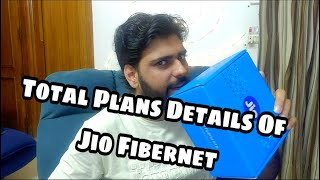 JIO GigaFiber Broadband Total Plans Details
