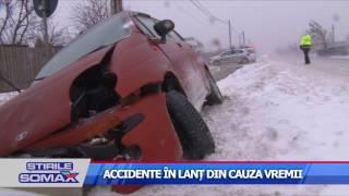ACCIDENTE IN LANT DIN CAUZA VREMII