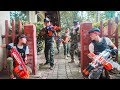 LTT Nerf War : SEAL X Warriors Nerf Guns Fight Attack Criminal Group Rescue Captain Soldiers