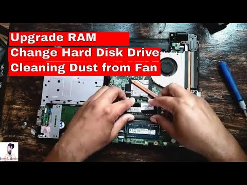 Acer travelmate tmp 246, disassembly and cleaning fan | Upgrading RAM | changing Keyboard and HDD