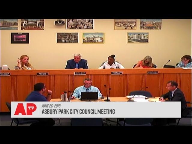 Asbury Park City Council Meeting - June 27, 2018