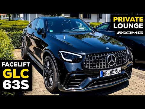 2020 MERCEDES-AMG GLC63 S Coupé V8 NEW Facelift & AMG PRIVATE LOUNGE in Affalterbach, Germany!