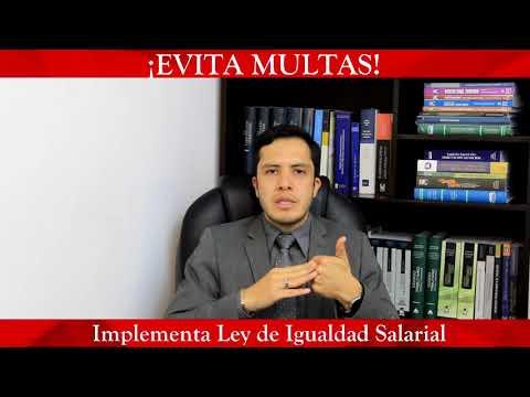LEY DE IGUALDAD SALARIAL - Mejía, Céspedes & Villegas Abogados