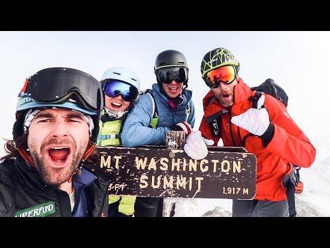 SKIING TUCKERMAN RAVINE | Mount Washington, New Hampshire |  VLOG 38