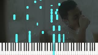 Tulus - Monokrom (Piano Tutorial) Synthesia