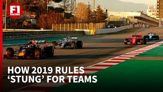 Why F1's 2019 regulation changes 'stung' for the teams
