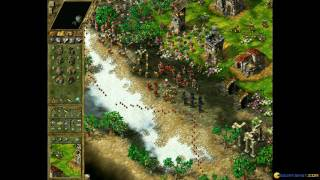 The Settlers 4 gameplay (PC Game, 2001)