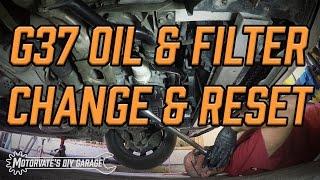 Oil & Filter Change: G37 / 370Z - Motorvate's DIY Garage Ep. 8