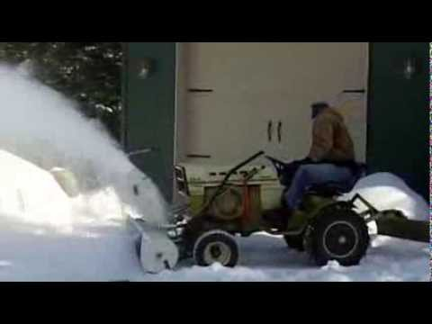 Sears Ss16 And New Looking Roper Snow Blower Youtube