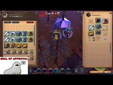 (Albion Online GvG) Money Guild pug vs Gentlemen A team