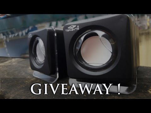 Terabyte Portable Mini Speaker Unboxing/Review/Giveaway