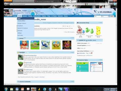 How to make a post in LiveJournal