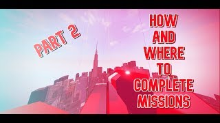 Roblox Parkour - HOW AND WHERE TO COMPLETE MISSIONS Part 2.