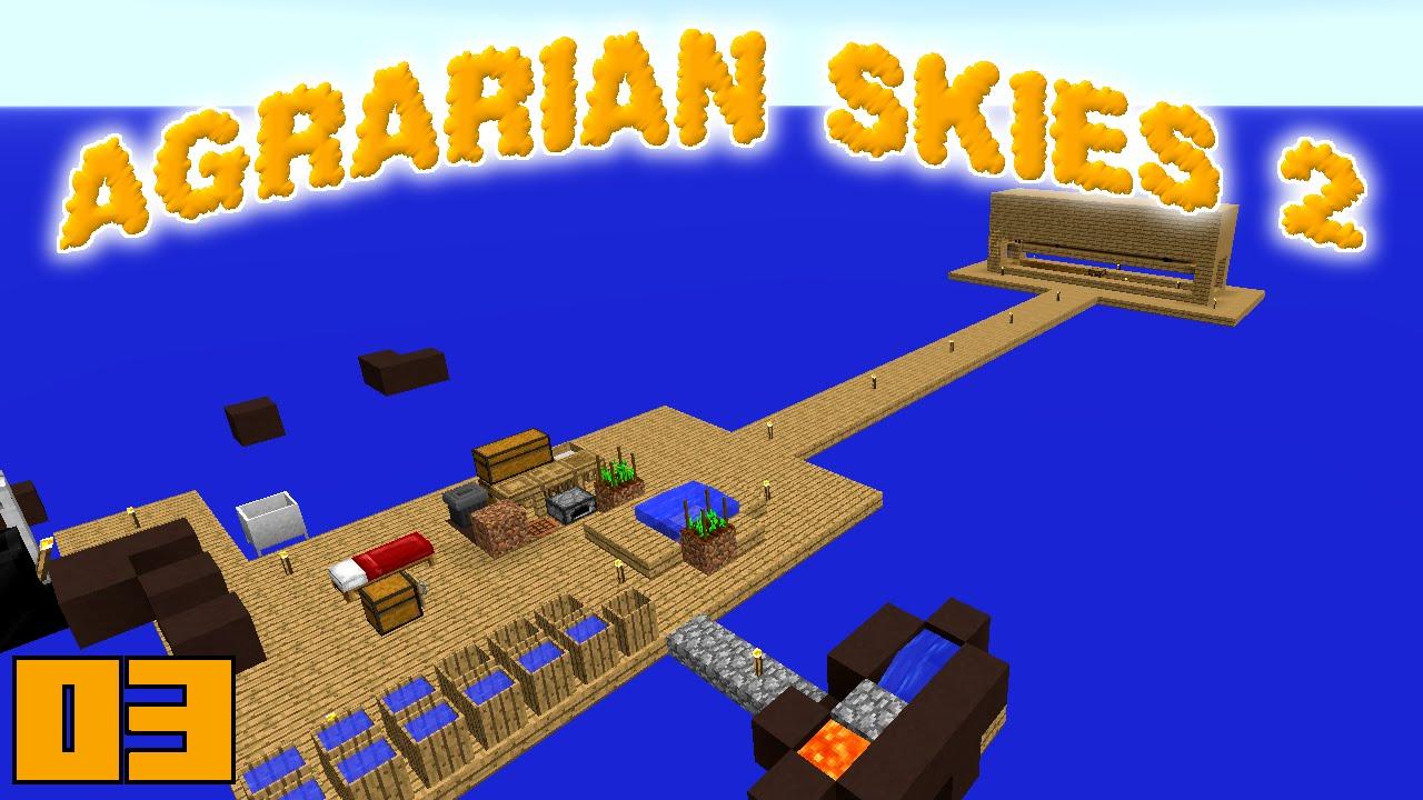 Agrarian skies скачать карту и сборку