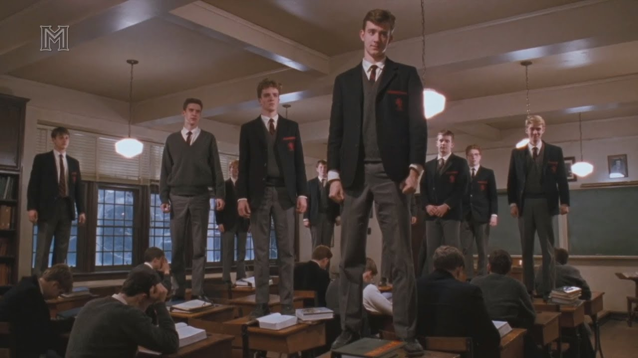 transcendentalism dead poets society and self reliance Self-confidence, manual labor, and a life close to nature in addition, the more  modern motion picture, dead poets society, further reflects this transcendental.