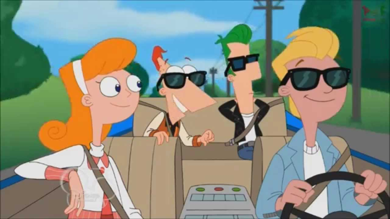 Phineas And Ferb My Cruisin Sweet Ride Hdtv Youtube