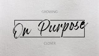 Being You on Purpose