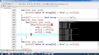 47. How to Sort Array Part 5, Array Exercise   Khmer Computer Knowledge