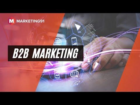 B2B Marketing - Meaning, Strategies, Types, Examples and B2B vs B2C marketing (Marketing Video 220)